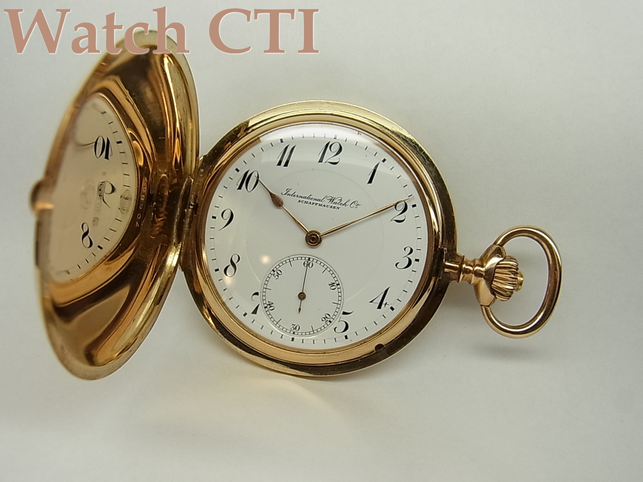 S1349] IWC C.53 懐中時計 : 時計文字 : すべての講義